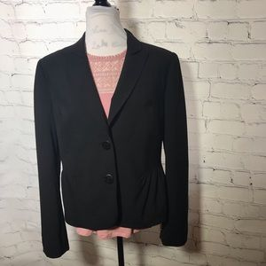 Magaschoni Collection Wool/Silk Lined Blazer